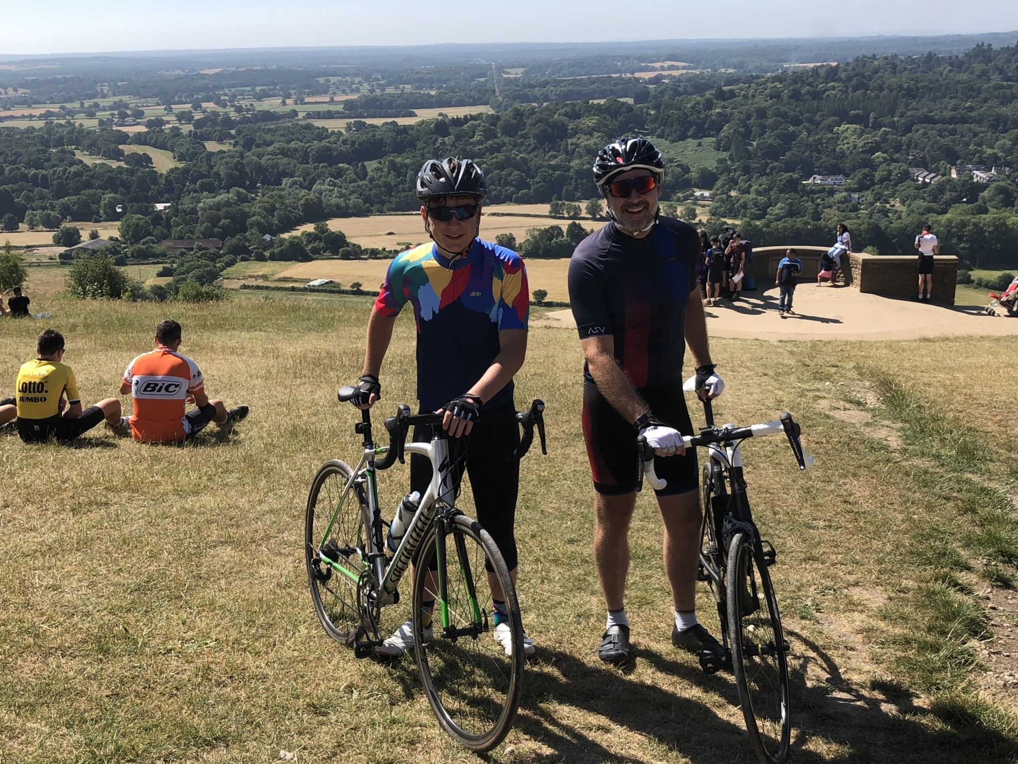 Billy and Joel Brunger Ride London19cyclists consentgiven 10 01 19