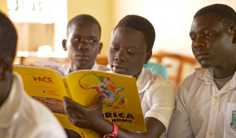 As part of the project, young people will learn about conservation in school