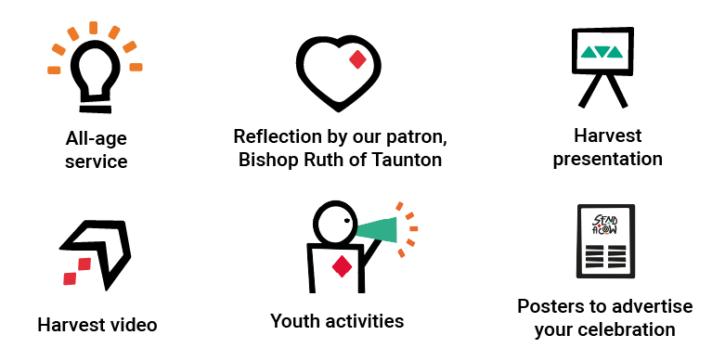Church Harvest resources