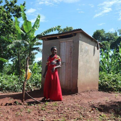 Clean latrine