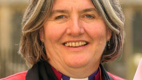Bishop Ruth Formal Head Shoulders