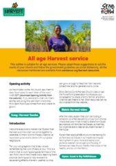 All Age Church Service