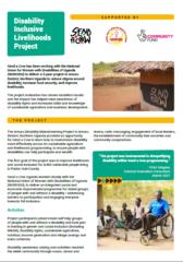 Disability Inclusive Livelihoods Leaflet Image