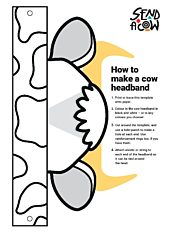 How to make a cow headband page 001