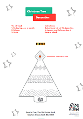 Screenshot of Tree decoration template