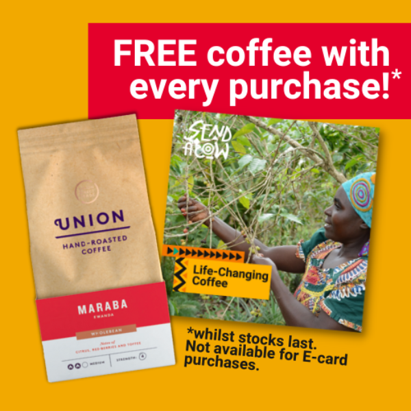 Free coffee with every purchase
