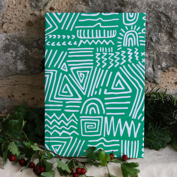 Spirited Hardback Notepad