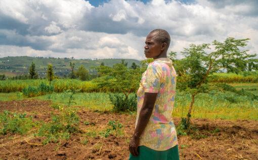 Grace farmer in Kenya