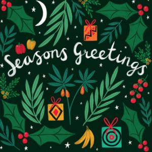 Card E Seasons Greetings